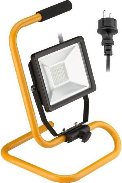 LED Baustrahler mit Standfuß, 30 Watt LED
